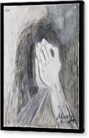 Humility Acrylic Print by Marinela Croitoru