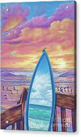 Hummingboard Acrylic Print