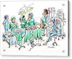 Humorous Surgical Comedy Acrylic Print