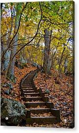 Humpback Rock Trail Acrylic Print