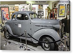 Humphrey Bogart High Sierra Car Acrylic Print