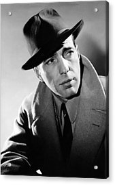 Humphrey Bogart Acrylic Print by Mountain Dreams