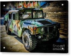 Humvee Acrylic Print