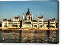Hungarian National Parliament Acrylic Print