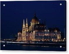Hungarian Parliament Building #1 Acrylic Print