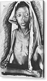 Hunger Acrylic Print by Laura Brightwood