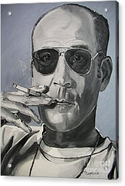 Hunter Thompson Acrylic Print