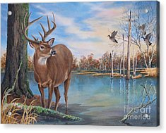 Hunters Dream Sold Acrylic Print
