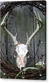 Acrylic Print featuring the photograph Hunters Wreath by Diane Merkle
