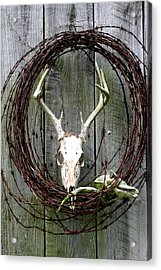 Hunters Wreath Variation Acrylic Print