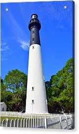 Hunting Island Lighthouse Beaufort Sc Acrylic Print