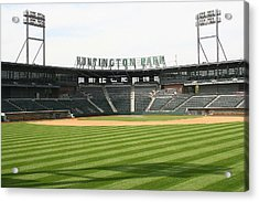 Huntington Park Baseball Field Acrylic Print by Laurel Talabere