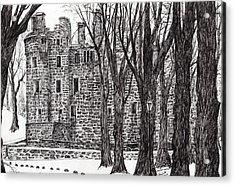 Huntly Castle Acrylic Print
