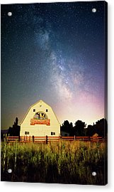 Huntsville Cow Barn Acrylic Print