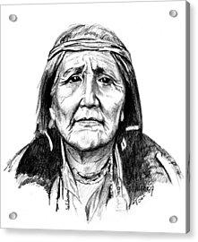 Hupa Woman Acrylic Print