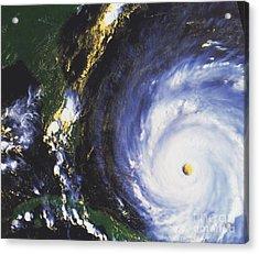 Hurricane Floyd Acrylic Print by NASA / Science Source