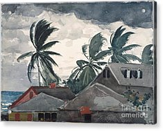 Hurricane In Bahamas Acrylic Print