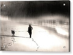 Acrylic Print featuring the photograph Hurry Home by Gray  Artus