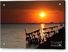 Husum Sunset Acrylic Print