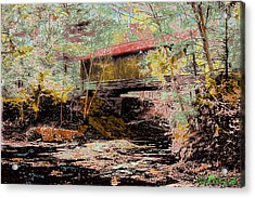 Hutchins' Bridge Acrylic Print