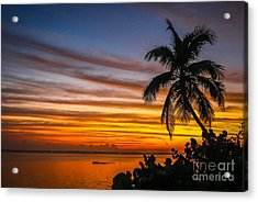 Acrylic Print featuring the photograph Hutchinson Island Sunrise #1 by Tom Claud