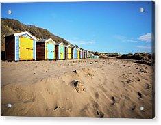 Huts Acrylic Print by Svetlana Sewell