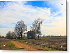 Hwy 8 Old House 2 Acrylic Print