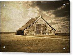 Hwy 9 Barn Acrylic Print by Julie Hamilton