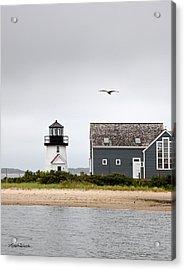 Hyannis Harbor Lighthouse Cape Cod Massachusetts Acrylic Print