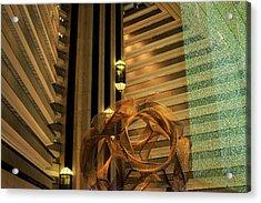 Hyatt Regency Sf Atrium Acrylic Print