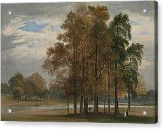 Hyde Park Acrylic Print by John Martin