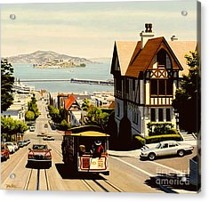 Hyde Street San Francisco Acrylic Print