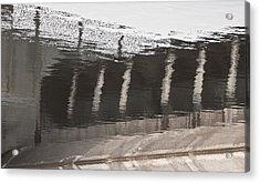 Hydro Dam Number One Acrylic Print by Michael Rutland