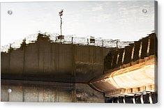 Hydro Dam Number Two Acrylic Print by Michael Rutland