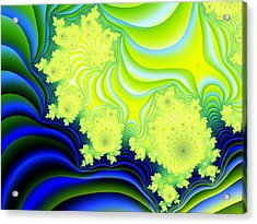 Hyper Acrylic Print by Lauren Goia