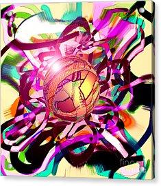 Hyperball Acrylic Print