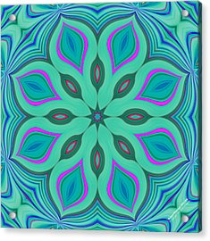 Acrylic Print featuring the digital art Hypnotherapy 2231k8 by Brian Gryphon