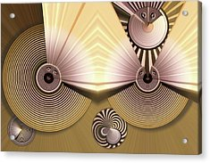 Hypnotic Acrylic Print by Ron Bissett
