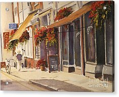 Acrylic Print featuring the painting Hythe High Street by Beatrice Cloake