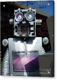 Acrylic Print featuring the mixed media I - Robot by Bill Thomson