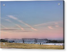 I-55 Bridge Over The Mississippi Acrylic Print
