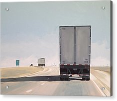 I-55 North 9am Acrylic Print by Jeffrey Bess