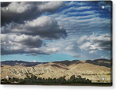 I Almost Touched The Clouds Acrylic Print
