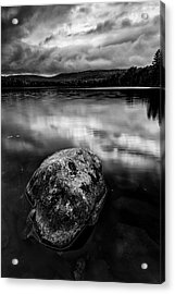 Acrylic Print featuring the photograph I Am A Rock by Mike Lang