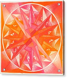I Am Alive Acrylic Print by Ulla Mentzel