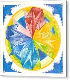 I Am Forgiveness Acrylic Print by Ulla Mentzel