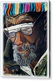 I Am Going To Be Somebody Acrylic Print by Michael Mahue Moore