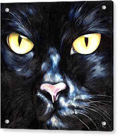 I Am Night Acrylic Print