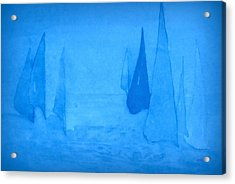 I Am Sailing 2 Acrylic Print