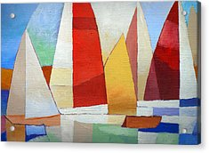I Am Sailing X L Acrylic Print